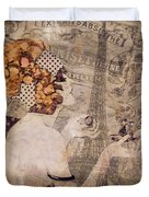 A Date With Paris II Duvet Cover
