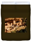 A Day At Mesa Verde Duvet Cover