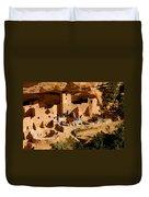 A Day At Mesa Verde Duvet Cover