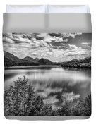 A Day At The Lake Duvet Cover