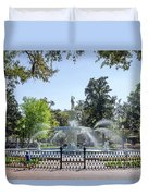 A Day At The Park Duvet Cover