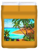 A Day In Paradise Hawaii #359 Duvet Cover