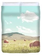 A Day In The Fields Duvet Cover