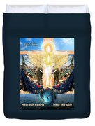 A Day Of Prayer For The Gulf Duvet Cover