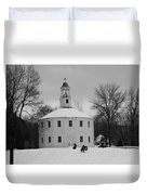 A Day On The Hill Duvet Cover