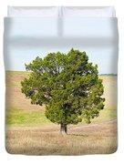 A December Cedar Duvet Cover