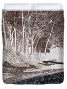 A Different World #1. Groove Of Trees Duvet Cover