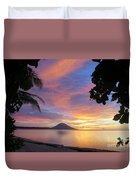 A Distant Island Duvet Cover