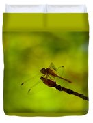 A Dragonfly Smile Duvet Cover