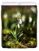 A Drop Of Spring Duvet Cover