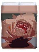 A Dusty Rose-d Duvet Cover