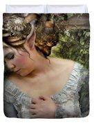 A Fairy's  Friend Duvet Cover