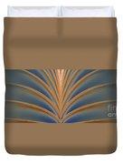 A Fan Of Art Deco Duvet Cover