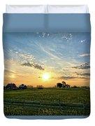 A Farmer's Morning 2 Duvet Cover