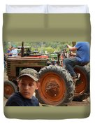 A Farmer's Son Duvet Cover