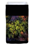 A Fern Botanical By H H Photography Of Florida Duvet Cover