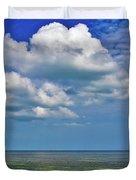A Few Clouds In Keywest Duvet Cover
