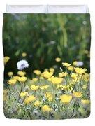 A Field Of Buttercups Duvet Cover