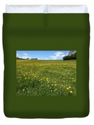 A Field Of Buttercups Duvet Cover
