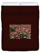 A Field Of Echinacea Duvet Cover