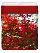 A Fiery Breeze Duvet Cover