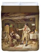 A Fine Attire Duvet Cover by Charles Hunt