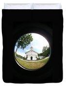 A Fish Eye View Duvet Cover