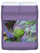 A Flower In The Sound Of Wind  Duvet Cover