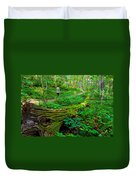 A Forest Stroll Duvet Cover