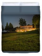 A Frank Lloyd Wright Home On Lake Champlain Duvet Cover