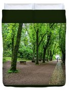 A Freiburg Germany Park Duvet Cover