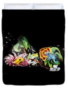 A Frogs Life Duvet Cover