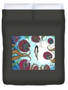 A Frog's Sky View Duvet Cover