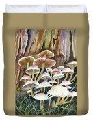 A Fungus Amongus Duvet Cover