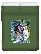 A Garden Muse Duvet Cover
