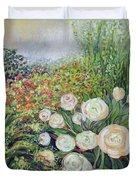 A Garden Romance Duvet Cover