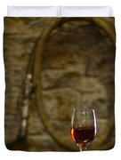 A Glass Of Woodford Duvet Cover