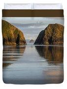 A Glossy Beach Duvet Cover