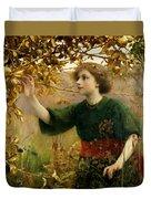 A Golden Dream Duvet Cover