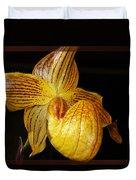 A Golden Slipper Duvet Cover