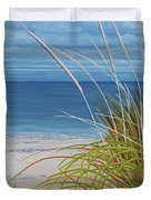 A Good Day For Beachcombing Duvet Cover