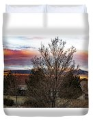 A Good Time To Rise Duvet Cover