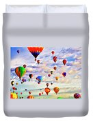 A Great Day To Fly Duvet Cover
