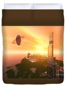 A Great Vision Duvet Cover by Corey Ford