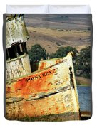 A-ground At Point Reyes Duvet Cover
