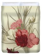 A Group Of Clove Carnations Duvet Cover