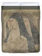 A Group Of Poor Clares Duvet Cover