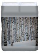 A Grove Of Aspens Duvet Cover