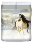 A Gypsy Winter Journey Duvet Cover