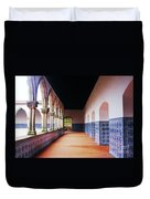 A Hall With History Duvet Cover